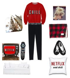 """Chillin with Boyfriend"" by robynshelbi on Polyvore featuring Ghost, Avenue and J.Crew"