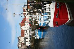 Fishing boats in the harbour at Pittenweem, in the pretty East Neuk of Fife, Scotland.LG:I love this harbor and all the boats in it!