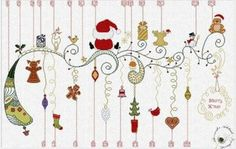 Waiting for Christmas - Cross Stitch Pattern