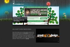 A great web design by Great Minds Design, Los Angeles, CA: