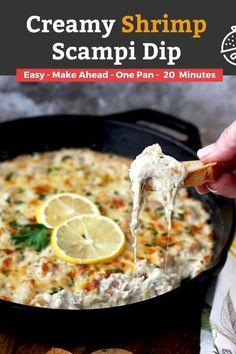 Best Appetizer Recipes, Best Seafood Recipes, Best Appetizers, Beef Recipes, Chicken Recipes, Dinner Recipes, Dip Recipes, Shrimp Recipes, Yummy Recipes