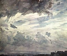 Paintings John Constable Cloud Study
