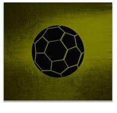 Soccer Ball Print Wall Art