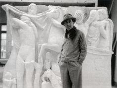 """ARTURO MARTINI, 1889 - 1947, """"Leone di Monterosso - Chimera"""" #arte #firenze #museonovecento #arturomartini"""