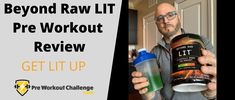 "Beyond Raw ""LIT"" is a fairly well known and advertised pre workout exercise supplement. But does it live up to its claims? This Beyond Raw LIT Pre Workout review will reveal all that you need to know about this popular workout supplement. Muscle Building Supplements, Workout Challenge, Build Muscle, Light Up, Challenges, Wellness, Exercise, Popular, Live"