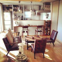 キッチンの収納/おうちカフェ/IKEA/DIY/お気に入りアイテム/無印良品の家…などのインテリア実例 - 2013-11-16 22:17:55 | RoomClip(ルームクリップ)