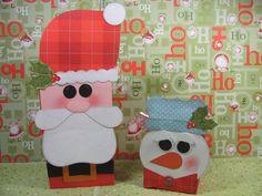 CTMH snowman gift bags