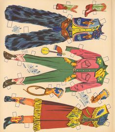 Paper Dolls~Cowboys & Cowgirls - Bonnie Jones - Picasa Web Albums