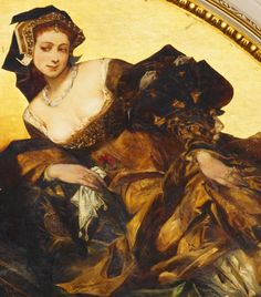 Cave to Canvas, jaded-mandarin: Hans Makart. Detail from Hans...