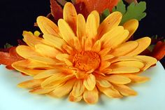 Global Sugar Art.com - Gerbera daisy tutorial