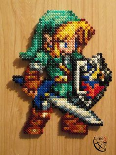 Link CSW Perler Beads by CrazyHamaGuyBeads