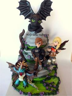 How To Train Your Dragon  on Cake Central