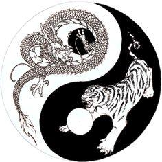 Dragon Tiger Yin Yang sketch by on DeviantArt Dragon Tiger Tattoo, Tiger Dragon, Dragon Art, Dragon Yin Yang Tattoo, Yin Yang Wolf, Yin Yang Art, Yin Yang Tattoos, Skull Tattoos, Sleeve Tattoos