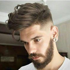 Top 100 Men's Hairstyles & Haircuts for Men - Hairstyle Man Top Hairstyles For Men, Cool Haircuts, Hairstyles Haircuts, Haircuts For Men, Trendy Hairstyles, Short Haircuts, Popular Haircuts, Medium Hairstyles, Modern Haircuts