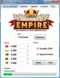 Either read this or proceed to download Goodgame Empire Hack below. Goodgame Empire is strategy game based on browser with story in medieval climate. You build your castle, you make an army, you fight other players and that's it. Unfortunately game is filled with people winning because of... https://hacksource.net/goodgame-empire-hack/