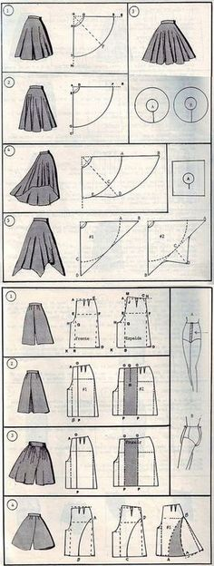 Terrific No Cost Sewing patterns clothes Thoughts 37 СПОСОБОВ СШИТЬ ЮБКУ Fashion Sewing, Diy Fashion, Ideias Fashion, Trendy Fashion, Skirt Fashion, Fashion Clothes, Fashion Ideas, Fashion Inspiration, Fashion Tips