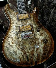 PRS Guitar  Spalted Maple