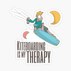 Kitesurfing, Car Stickers, Glossier Stickers, Disney Characters, Fictional Characters, Therapy, My Arts, Art Prints, Printed