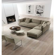 The sofa collections we offer at IL Décor are not only built for comfort but as art. Living Room Furniture, Home Furniture, Living Room Decor, Modern Furniture, Large Cushions, Modular Sofa, Lounge Areas, Modern Sofa, Living Room Designs