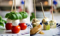 7 enkle tapas-retter til 17. mai på 30 sekunder | EXTRA Tapas Party, Tapas Recipes, Caramel Apples, Sushi, Side Dishes, Snacks, Baking, Dinner, Ethnic Recipes