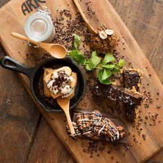 Indulge in the Chocolate Sharing Plate in Ariccia Italian Trattoria & Bar