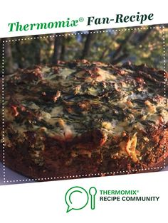 Recipe Ditch the Carbs LCHF Spinach and Feta Pie by Terry the Thermie, learn to make this recipe easily in your kitchen machine and discover other Thermomix recipes in Main dishes - vegetarian. Lchf, Keto, Vegetarian Pie, Ditch The Carbs, Red Cabbage Salad, Tuna Cakes, Spinach And Feta, Recipe Community, Thermomix