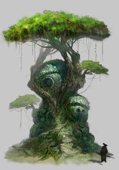 ArtStation - Дерево, Seungho Цой