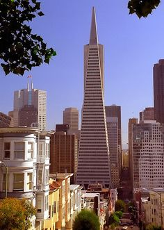 San Francisco - Transamerica Building from Telegraph Hill | Flickr - Photo Sharing!