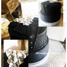 The brief was : 💌 @deliciously_you_gp 'I'm am a #bosslady like yourself, lol! And I would love a cake that says #business #slayer with a touch of #feminity. Colours are #black and #silver, surprise me, this is my budget...' 😳😅 this is what we came with , Mrs Mlambo hopefully you will love it like we do 😘😘😘 #nomsbakedmycake #cakeboss #foodporn #foodgasm #foodnetwork #icanbake #cake #lovers🍰🍰🍰 #picoftheday #iheart #vanilla with #toastedcoconut #buttericing