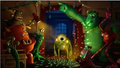 Two fantastic new Monsters University Movie Clips!