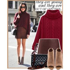 A fashion look from October 2014 featuring T By Alexander Wang mini skirts, Joie ankle booties and Chanel shoulder bags. Browse and shop related looks.