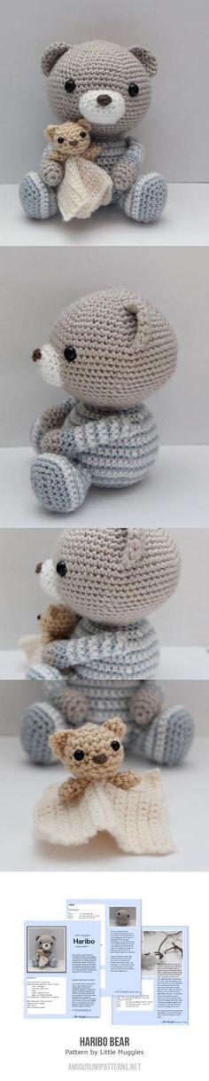Crochet Pattern Haribo Bear. Found at Amigurumipatterns.net