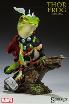 Marvel Thor Frog Diorama by Sideshow Collectibles | Sideshow Collectibles