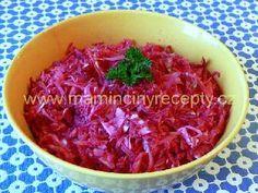 Salát z červené řepy a zelí
