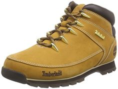 Timberland Mens Wheat Euro Sprint Hiker Boots-UK 10 >>> Click image to review more details.