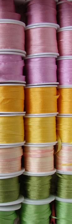 silk ribbon wholesale, buy natural silk ribbon, wholesale price, silk ribbon supplier