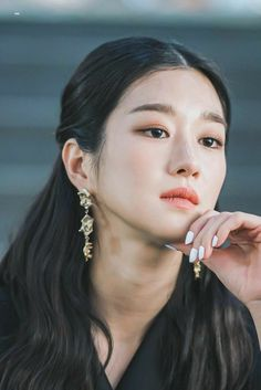 Asian Actors, Korean Actresses, Korean Actors, Actors & Actresses, Seo Ji Hye, Hyun Seo, Cute Quick Hairstyles, K Drama, Korean Girl