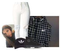 """untitled"" by bitchgotswagg ❤ liked on Polyvore featuring (+) PEOPLE, adidas and Topshop"