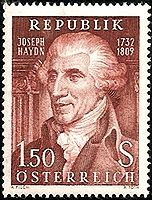 "Joseph Haydn (Franz) [1732-1809]   This Austrian composer was one of the most prolific and prominent composers of the Classical period. He helped develop new musical forms, like the string quartet and the symphony. In fact, even though he didn't invent it, Haydn is known as the ""Father of the Symphony.""  Compositions: The Creation, Symphony No. 45, The Seasons, & more"