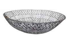 Crochet Wire Bowl available at meizai