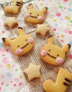 Pikachu Cookies