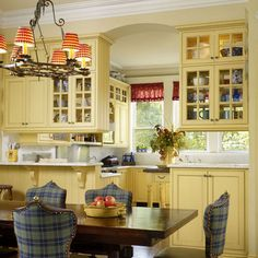 French Country Galley Kitchen http://ths.gardenweb/discussions/2623146/yellow-kitchen-help