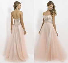 New Arrival Sweetheart Neckline Floor-length A-line Puffy Cheap Sequins Prom Dress 2014 US $119.00