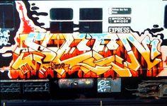 Graffiti History, Seen Graffiti, Graffiti Images, New York Graffiti, Graffiti Wall Art, Graffiti Drawing, Street Art Graffiti, Famous Graffiti Artists, Graffiti Lettering Alphabet