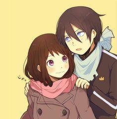 Noragami yato x hiyori | Anime Amino