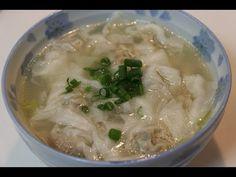 Fujian Bian Rou 福州扁肉 (Fujianese-style Wonton Soup) The Art Of Cooking