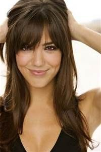 long layered hair with bangs pictures - - Yahoo Image Search Results