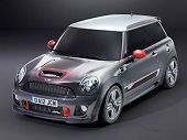 MINI have unveiled the MINI John Cooper Works GP.  This car will go into production later this year and MINI plan to make 2,000 available for sale.      Prices are yet to be revealed but but MINI reveal the car lapped Nürburgring's Nordschleife circuit in 8 minutes and 23 seconds - 19 seconds faster than its predecessor.     The rear seats are removed in this model reducing its kerb weight whilst highlighting it's race bread character.
