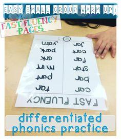 differentiated phonics practice