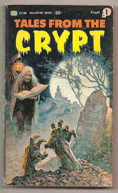 1965 Ballantine EC Comics Tales From the Crypt Paperback Book